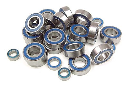 (XRAY Ball-Bearing Set - Rubber Covered For XB8 (24))