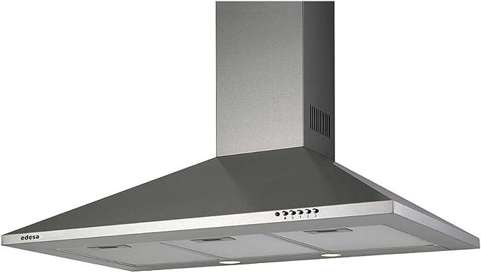 CAMP EDESA URBAN-PIRA91XA 90CM INOX: Amazon.es: Grandes electrodomésticos