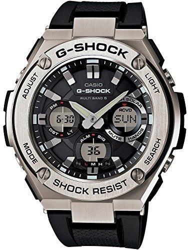 (CASIO watch G-SHOCK G-STEEL world six stations corresponding Solar radio GST-W110-1AJF Men's)