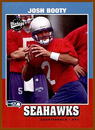c93e5c70a 2001 Upper Deck Vintage  256 Josh Booty RC ROOKIE SEATTLE SEAHAWKS LSU  TIGERS at Amazon s Sports Collectibles Store