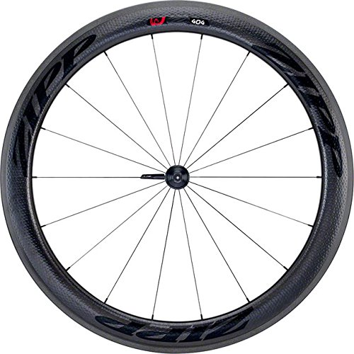 Zipp 808 Wheel Front (Zipp Firecrest 404(Front) / 808(Rear) Carbon Clincher Road Wheelset Black Decal 10/11 Speed SRAM/Shimano)