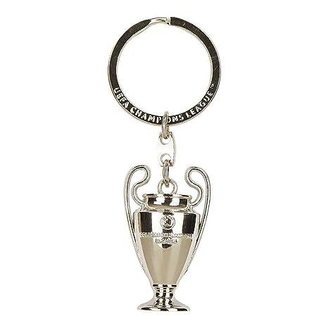 Unbekannt UEFA Champions League, Llavero réplica de la Copa en 3D, Plata, UEFA-CL-SA