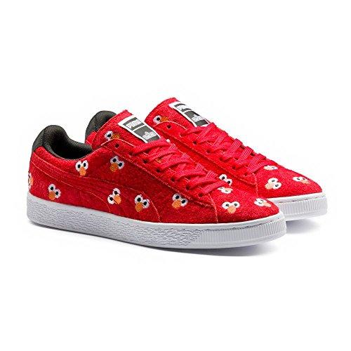 Sneakers Selezionare Uomo X Sesame Street Suede Sneakers Ad Alto Rischio Rosso
