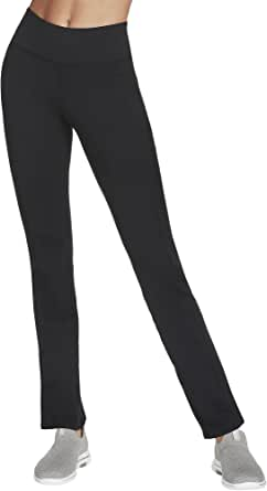 Skechers Womens W03PT20B Go Walk Go Flex 4 Pocket Boot Cut Pant Casual Pants