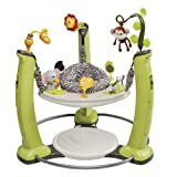 Evenflo ExerSaucer Jump and Learn Jumper- Best Baby Jumper with Bounce Base