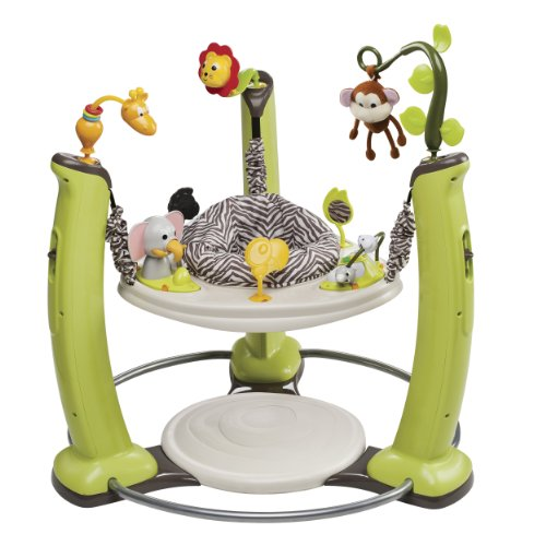 Evenflo ExerSaucer Jump and Learn Jumper, Jungle Quest by Evenflo