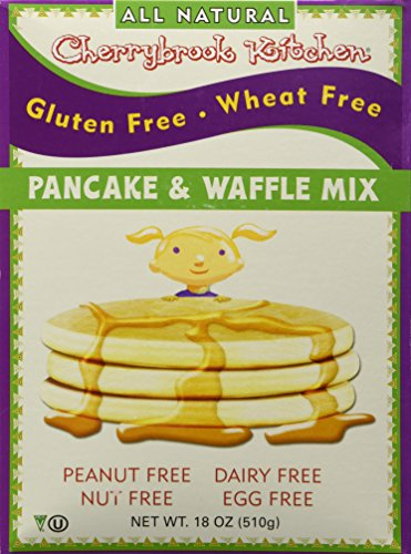 Free Cherrybrook Kitchen Gluten (Cherrybrook Kitchen Gluten Free Dreams Pancake and Waffle Mix -- 18 oz)