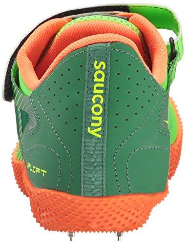 Scarpe Da Uomo Saucony Uplift Hj2 Track Citron / Vizi Orange