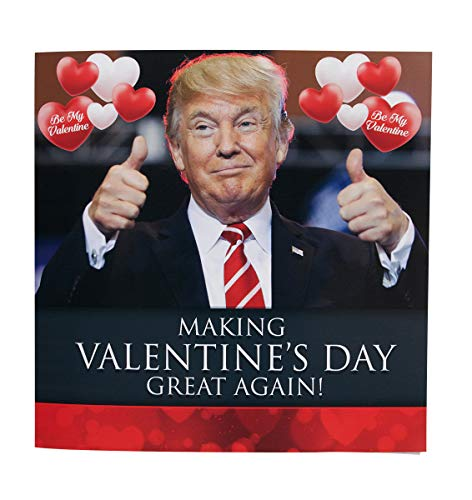 Talking Trump Valentines Card - Surprise Someone With A Personal Valentine Day Greeting From The President Of The United States - Includes -