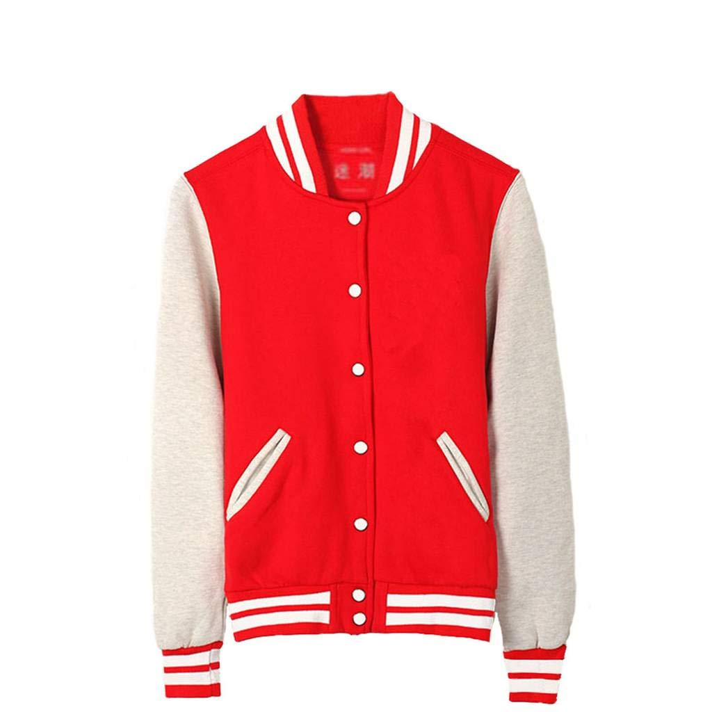 Gumstyle Unisex Baseball Uniform Jacket Sport Coat