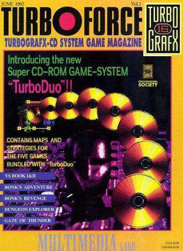 Turbo Force Magazine - Vol. 1 (June 1992)