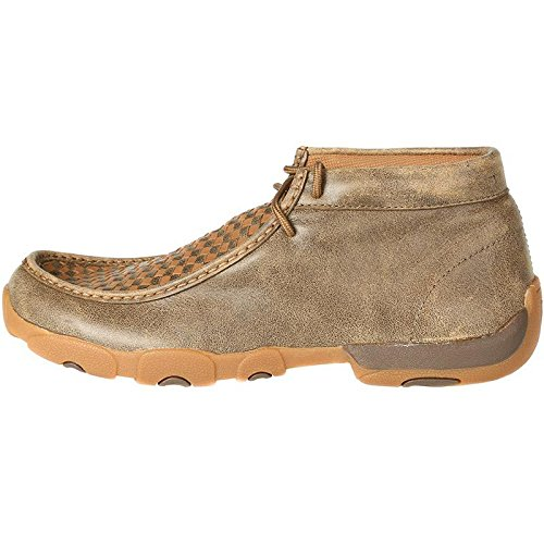 Twisted X Boots Mens Patchwork Driving Mocs 9 W Bomber/Tan by Twisted X (Image #2)