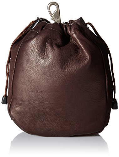 Chocolate Leather Pouch - 1