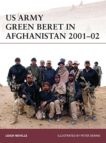 US Army Green Beret in Afghanistan 2001–02 (Warrior Book 179) (English Edition) por [Neville, Leigh]