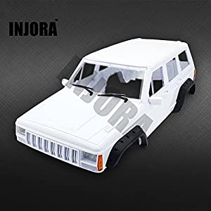 injora hard plastic 12 3 inch 313mm wheelbase cherokee body car shell for 1 10 rc. Black Bedroom Furniture Sets. Home Design Ideas