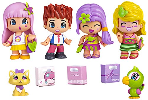 Pinypon - 700012060 - Coffret De 4 Figurines City