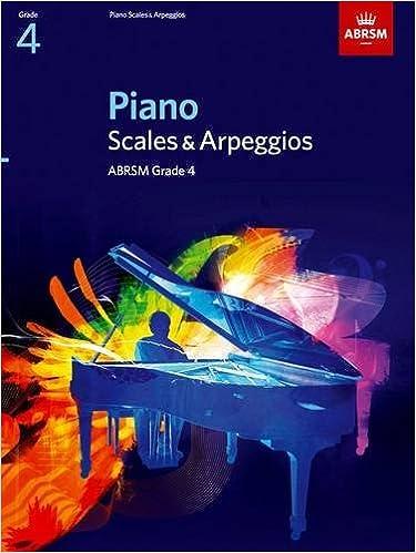 Piano Scales And Arpeggios Abrsm 9781860969164 Amazon Books