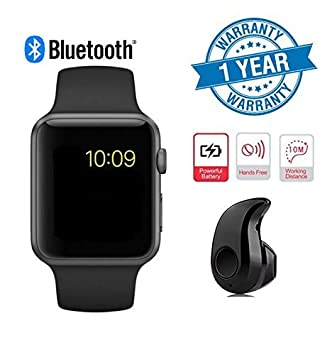 88f84be9d23 Wonderford Supreno A1 Bluetooth Smartwatch with  Amazon.in  Electronics