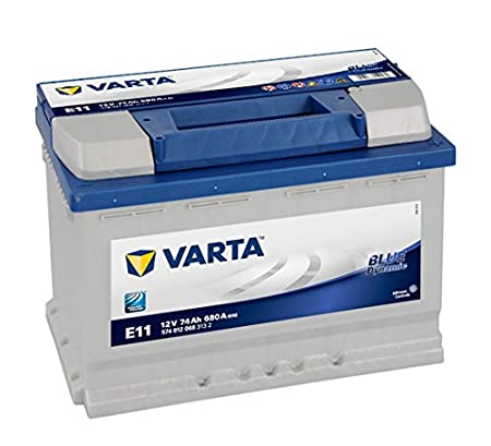 Varta Blue Dynamic E11 Batterie Voitures, 12 V 74Ah 680 Amps (En)