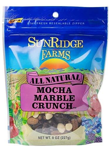 - SunRidge Farms Mocha Marble Crunch 8 Ounce Bag (Pack of 12)