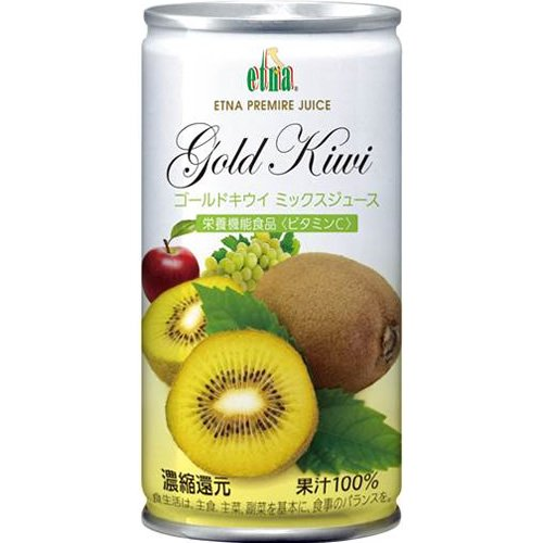 195mlX20 this Etna Gold kiwi mixed juice