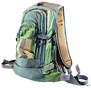 Fly fishing backpack chest pack combo set for Fishing backpack amazon