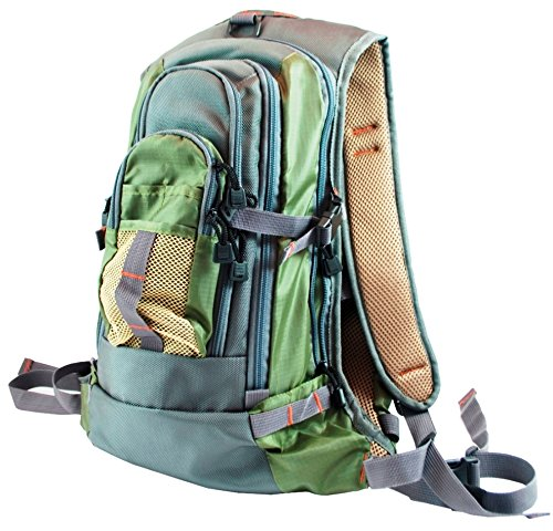 Fly Fishing Backpack Chest Pack Combo Set -offer includes both packs and free fly box (Packs Fishing Chest Fly)