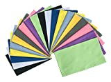 Best Eyeglass Cleaning Cloths - ColorYourLife 20-Pack Microfiber Cleaning Cloths for Apple iPhone Review