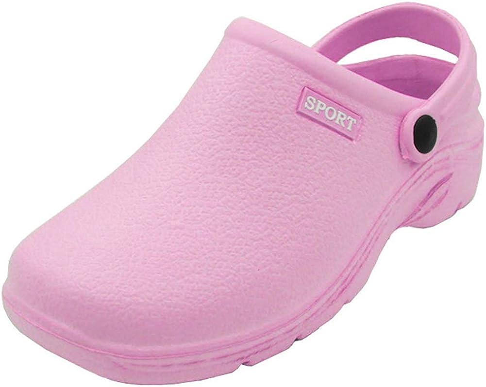 Sport Women's Solid Slingback Garden Clogs Shoes