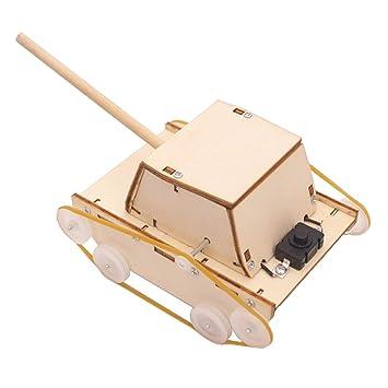 Elektrischer Rasenmaher Panzer