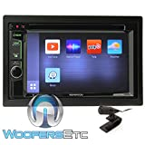 Kenwood DDX575BT In-Dash 2-DIN 6.2'' Touchscreen DVD Receiver with Waze, Spotify, Pandora, and YouTube Integration via Weblink
