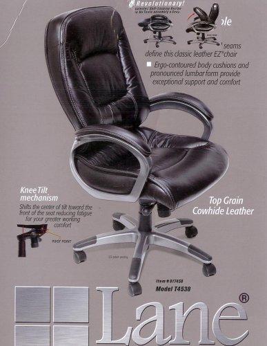 Amazon Com Lane Furnishing Top Grain Cowhide Leather Office Chair