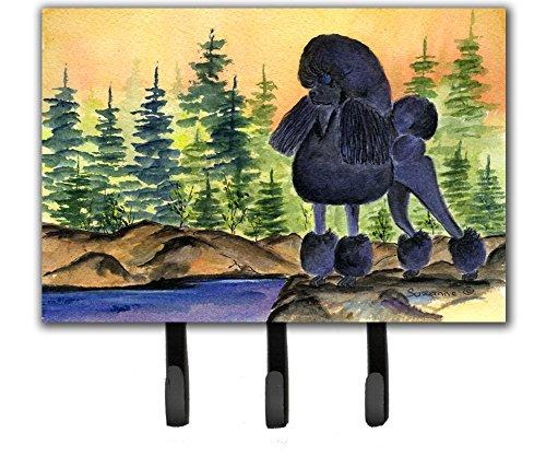 (Caroline's Treasures SS8196TH68 Poodle Leash Holder or Key Hook, Large, Multicolor)