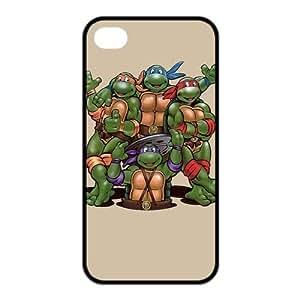 FashionFollower Design NN TMNT Teenage Mutant Ninja Turtles Beautiful Case Suitable For iphone4/4s IP4WN31309