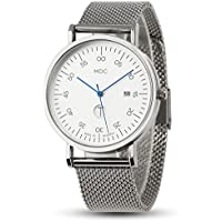 MDC Mens Fashion Classic Watch Business Casual Wrist Watches for Men with Mesh Band