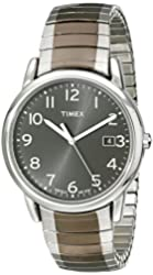 Timex Men's T2N949 Elevated Classics Stainless Steel Dress Watch with Two-Tone Expansion Band