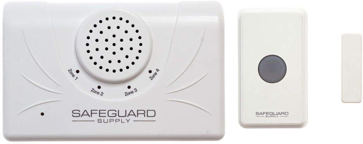 Wireless Doorbell, ERA-UTDCR Door Chime with 4000 Feet Range, Ideal Wireless Door Chime for Business & Home, Long Range Wireless Doorbell Goes Through Multiple Walls & Floors, Concrete, Metal & Brick