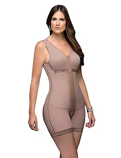 bb6395865e20b DPRADA Fajas 11215 Full Body Shaper Post Surgery Abdomen Compression  Garment with Bra at Amazon Women s Clothing store