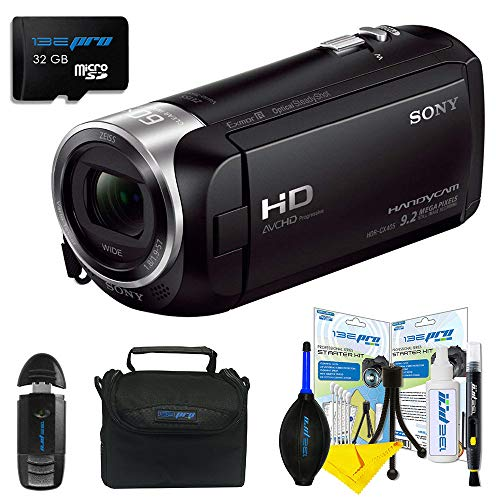 Sony HDRCX405 Handycam Camcorder Bundle with 32 Micro SD Card -  Pixibytes