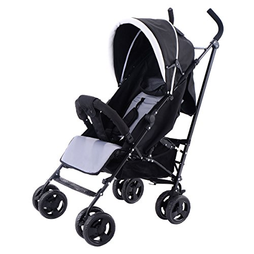 Costzon Foldable Baby Stroller Infant Pushchair