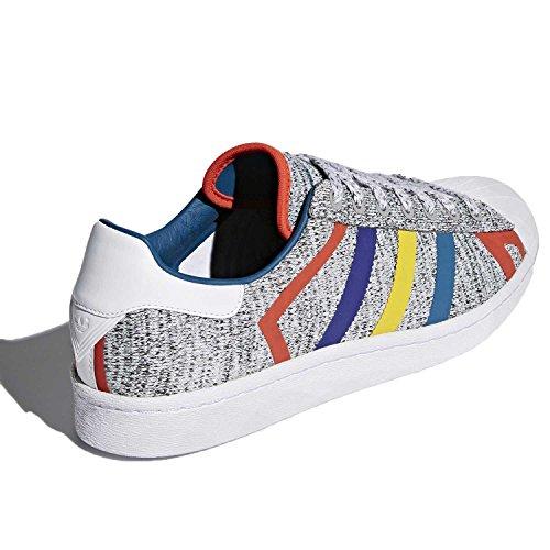 Mens Adidas Superstar Grigio / Multicolor Aq0352