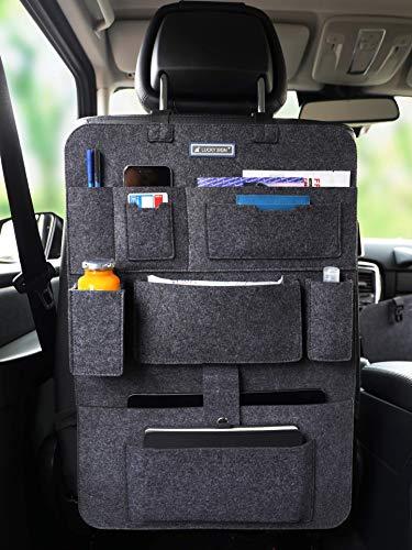5105RlC4KQL Auto Organizer Rückenlehnenschutz 2.Gerneration mit Befestigungshaken multi Staumöglichkeiten Wohnmobil Zubehör…