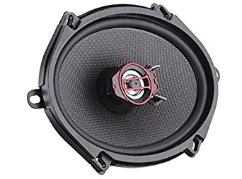 2-Way Black Paper Cone DS18 GEN-X4.6 Coaxial Speaker 45W RMS 4 Ohms 2 Speakers 135W Max Clarity Unparalled by Other Speakers in Their Class Mylar Dome Tweeter 4x6