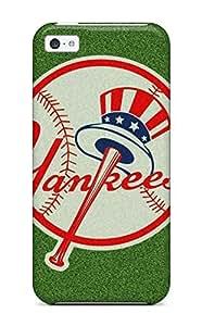 Cute Appearance Cover/tpu NeqiSCB18056ZDSCd New York Yankees Case For Iphone 5c
