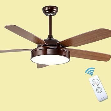 Deckenventilator mit Beleuchtung Fernbedienung 52/'/'65W Lüfter Lampe Deko Leuchte