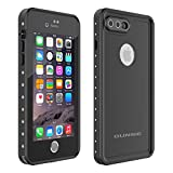 OUNNE iPhone 7 Plus/8 Plus Waterproof Case, Underwater Full Sealed Cover Snowproof Shockproof Dirtproof IP68 Certified Waterproof Case for iPhone 7 Plus/8 Plus 5.5inch