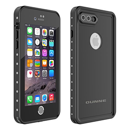 Price comparison product image iPhone 7 Plus/8 Plus Waterproof Case, OUNNE Underwater Full Sealed Cover Snowproof Shockproof Dirtproof IP68 Certified Waterproof Case for iPhone 7 Plus/8 Plus 5.5inch