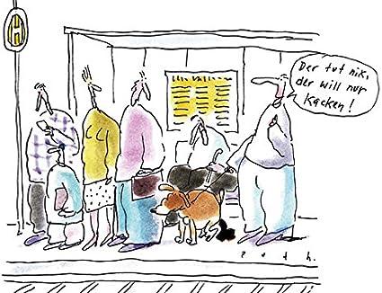 Postkarte A6 78402 Er Will Doch Nur Kacken Von Inkognito Kunstler Inkognito Satire Cartoons Amazon De Burobedarf Schreibwaren