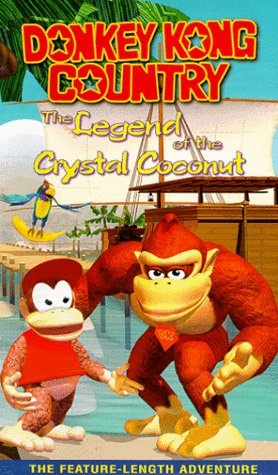 Donkey Kong Country: Legend of the Crystal Coconut [VHS]