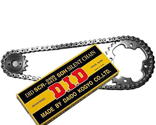 DID Kettensatz Kreidler 125 SM Supermoto DD Bj. 2008-2014 Götz